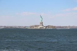 La fameuse statue de la liberté