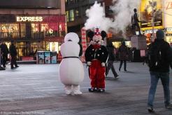 Disney a perdu Olaf et Mickey sur Times Square