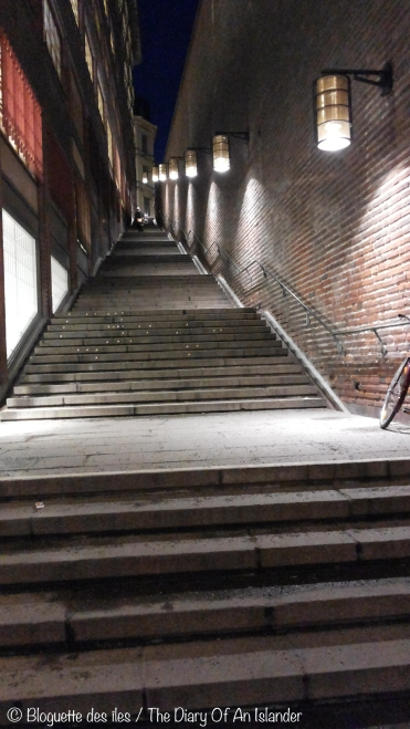 So many stairs